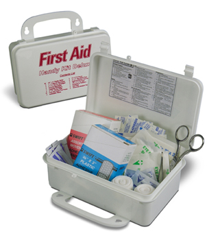 Item 714 34650h handy deluxe swift first aid kit 34650h on sc close window handy kit deluxe publicscrutiny Choice Image
