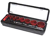 M.K. Morse AV100 Hole Saw Kit