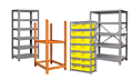 Pucel Shelves Rack Front