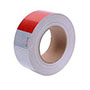 Red Silver Reflective Tape