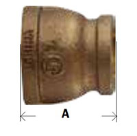 Bronze Reducing Coupling Diagram